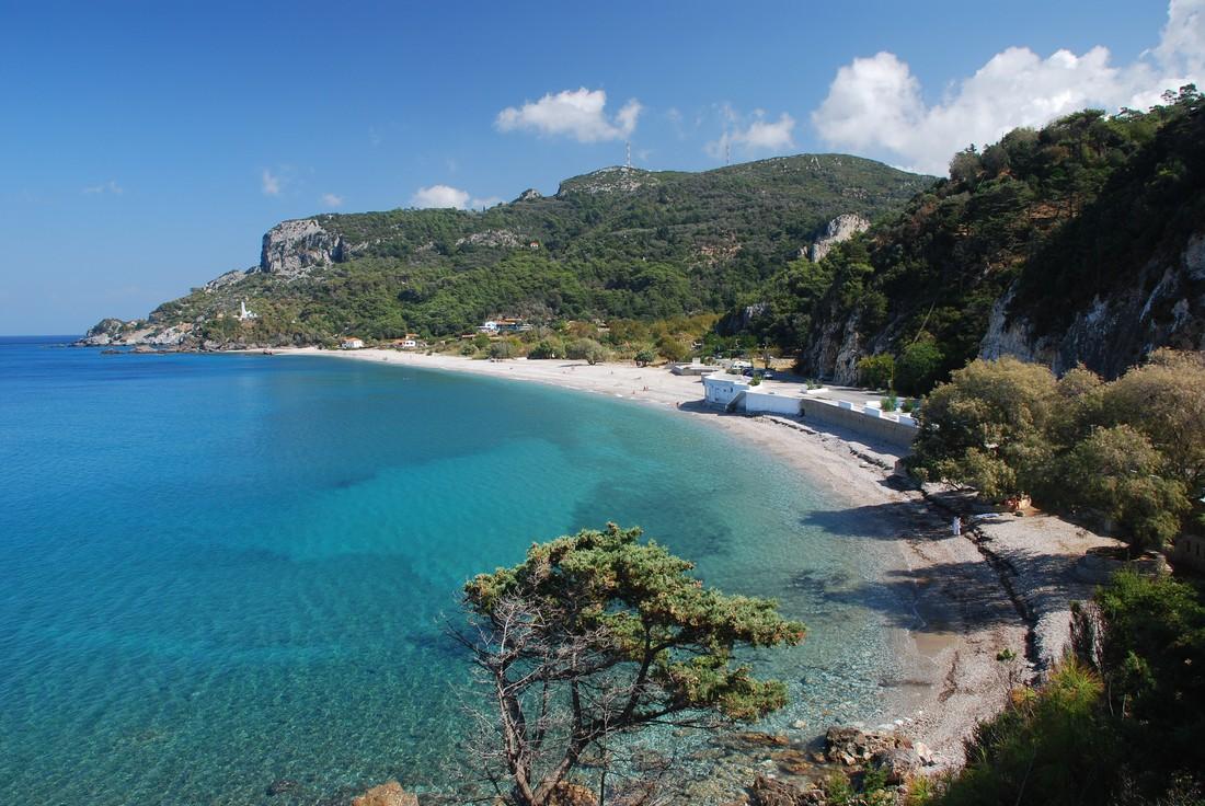 Potami Beach - mooiste stranden Samos