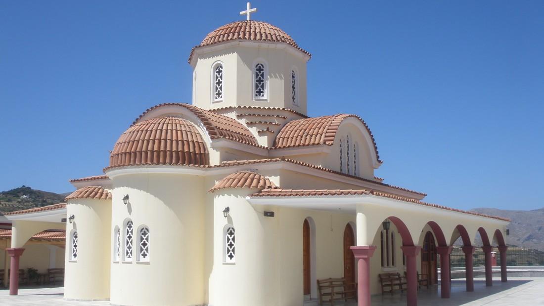Het klooster van Spili - bezienswaardigheden op Kreta