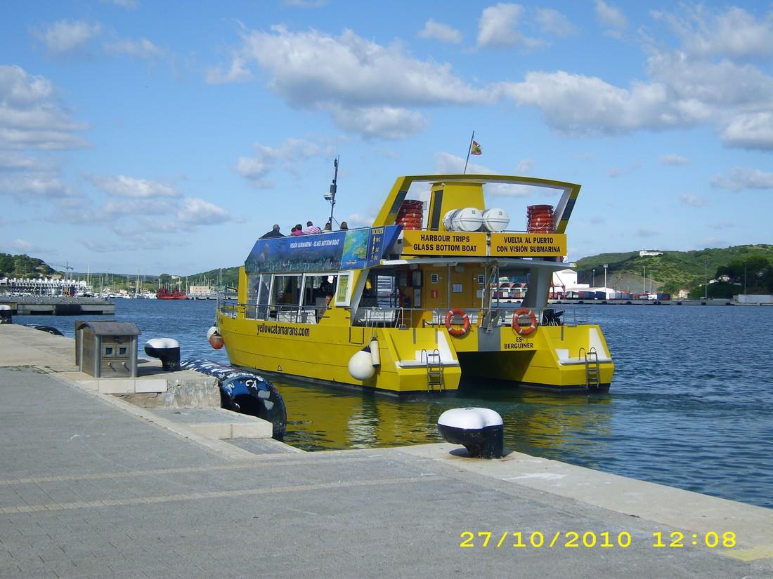 Boottocht Menorca