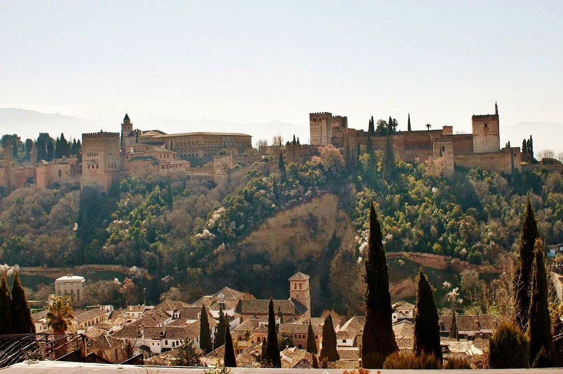 Alhambra Paleis - Andalusië met kinderen