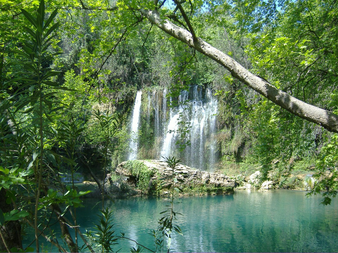 Düden watervallen