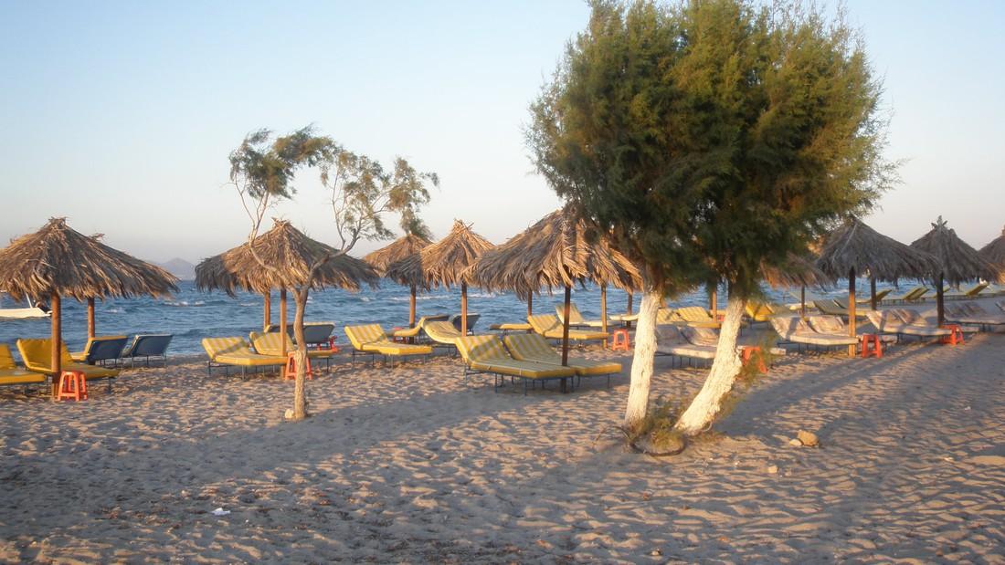 stranden - doen op Kos