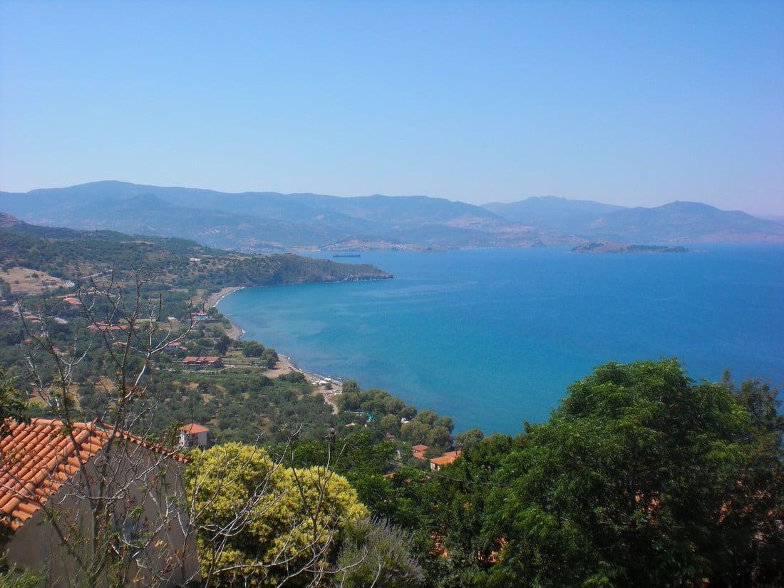 mooiste stranden op Lesbos : Molyvos