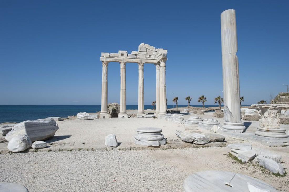 Side tempel van Apollo
