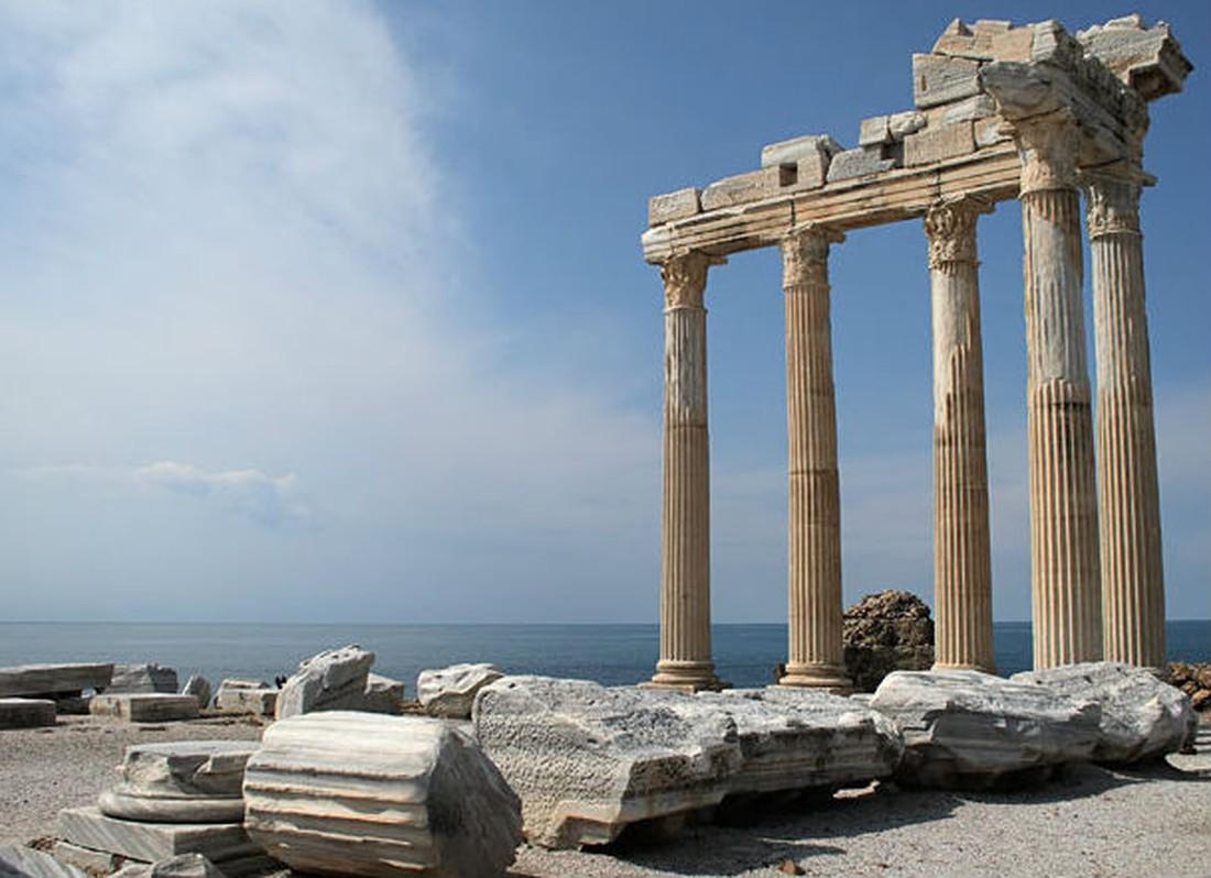 Tempel van Apollo - bezienswaardigheden in Side