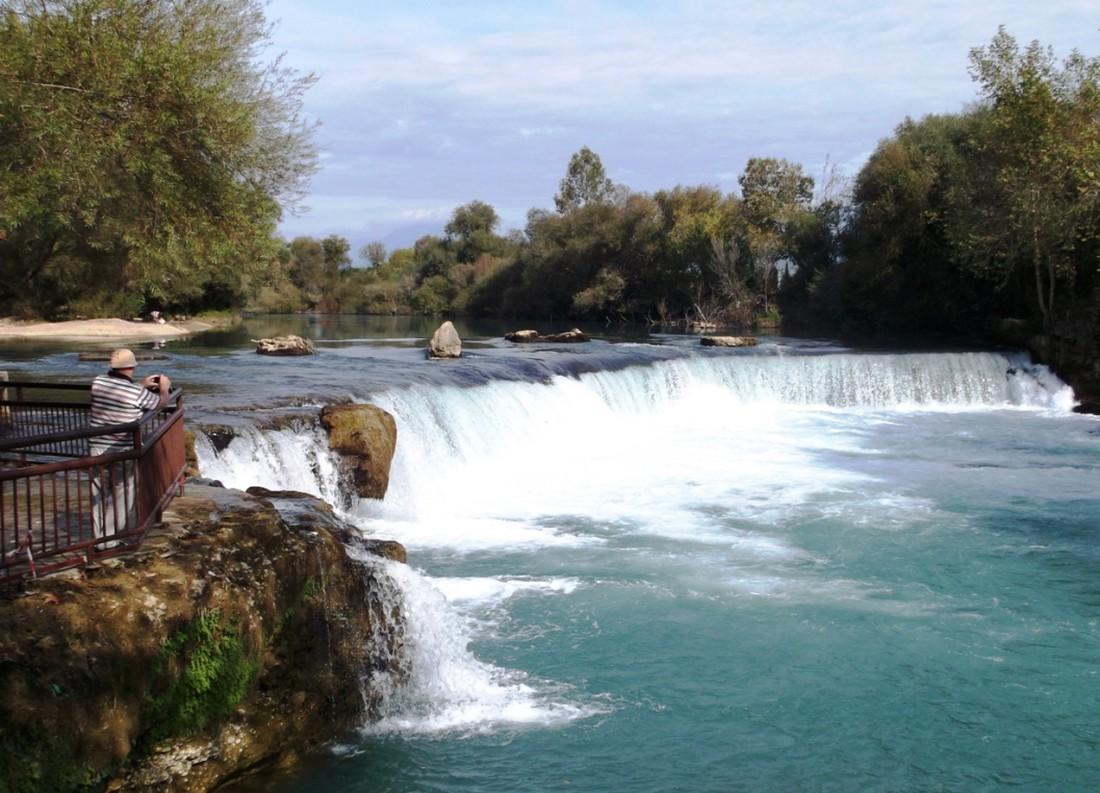 Manavgat watervallen - bezienswaardigheden in Side