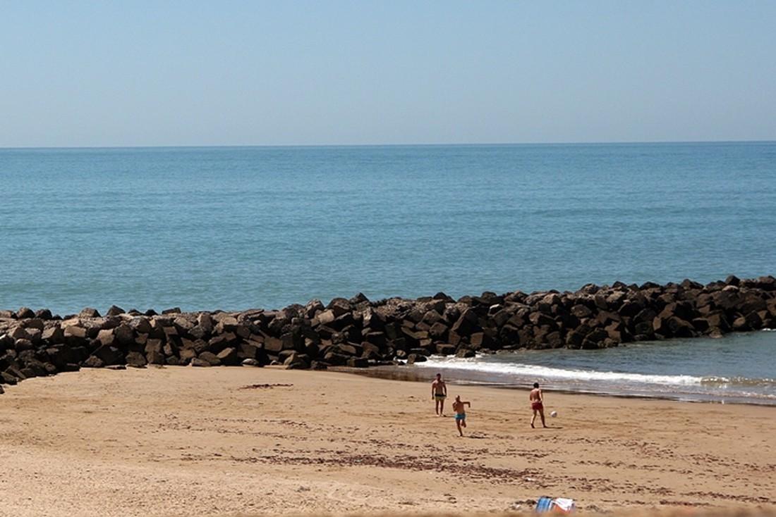 Strand bij Cádiz