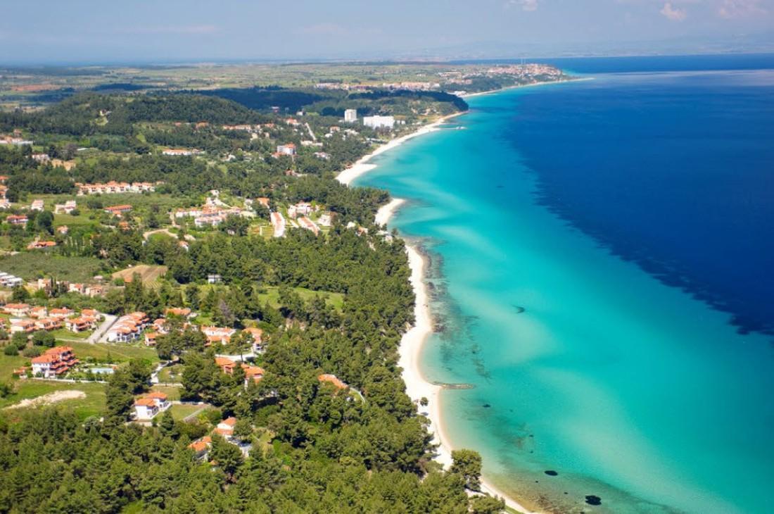 Kindvriendelijke strand Chalkidiki