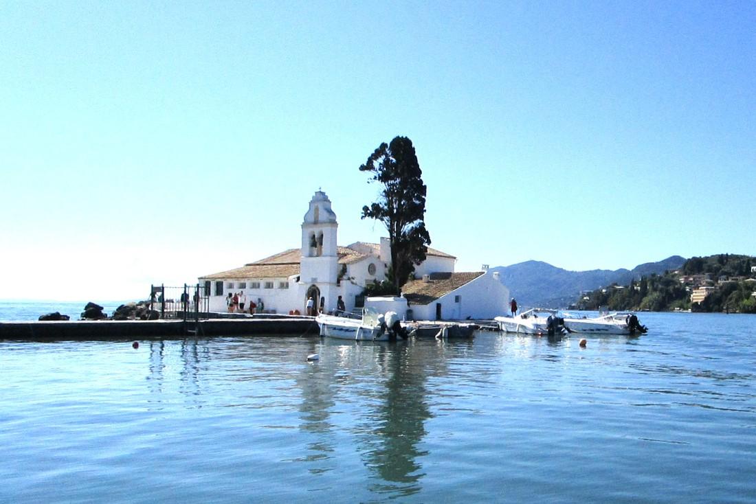 Vlachernaklooster - bezienswaardigheden op Corfu