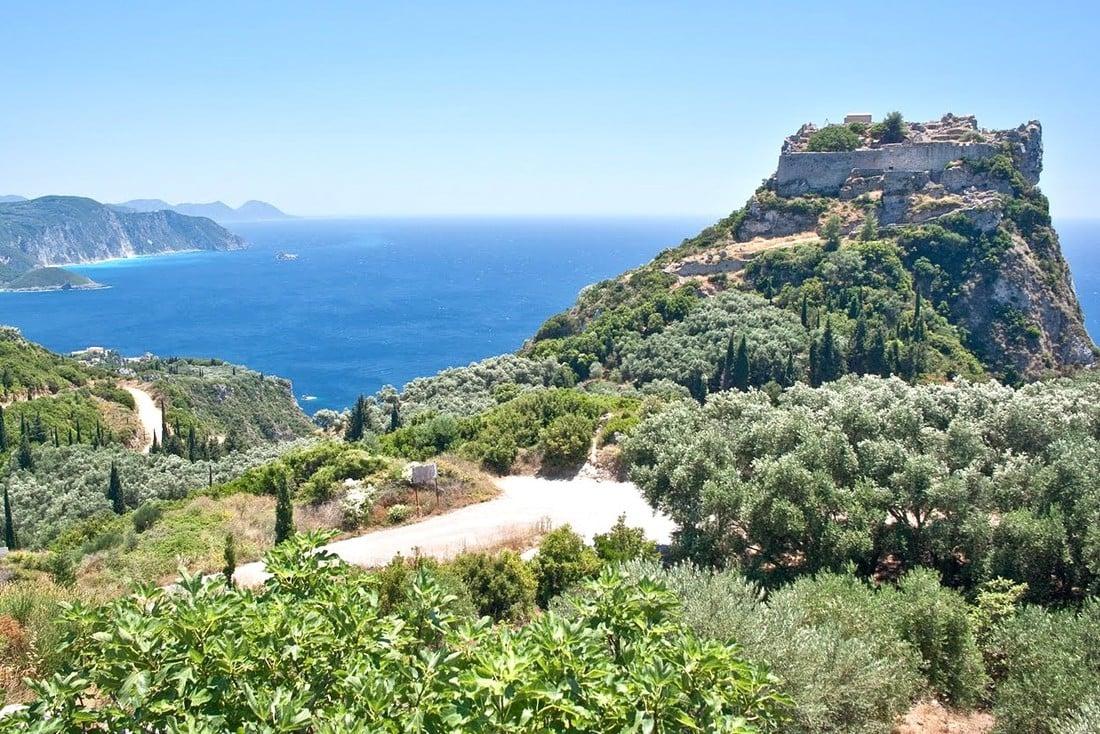Kasteel op Corfu