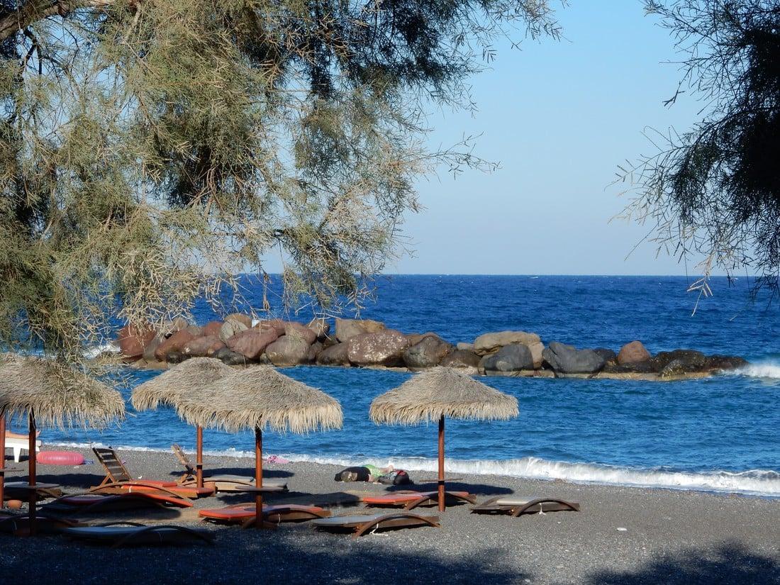 Kamari Beach - kidsproof vakantie naar Santorini