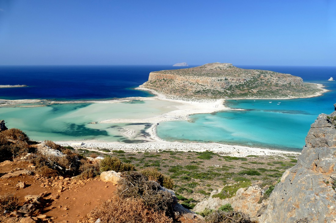 Balos Beach - mooiste stranden Kreta