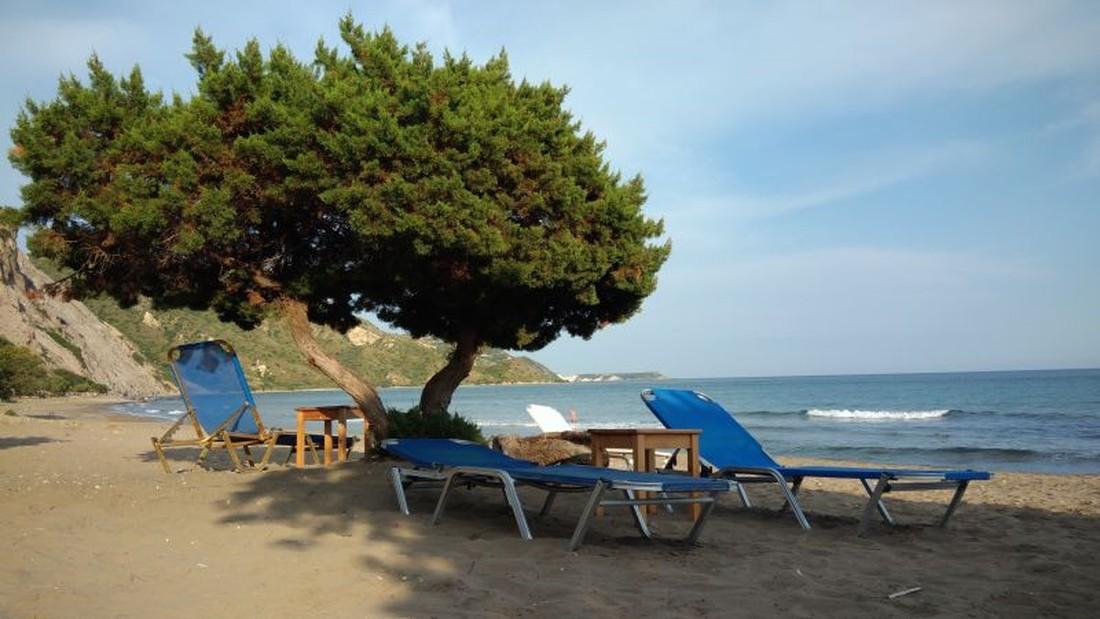 Dafni Beach - mooiste stranden van Zakynthos