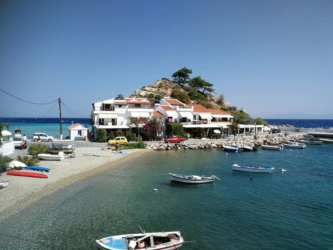 Kokkari Beach - mooiste stranden Samos