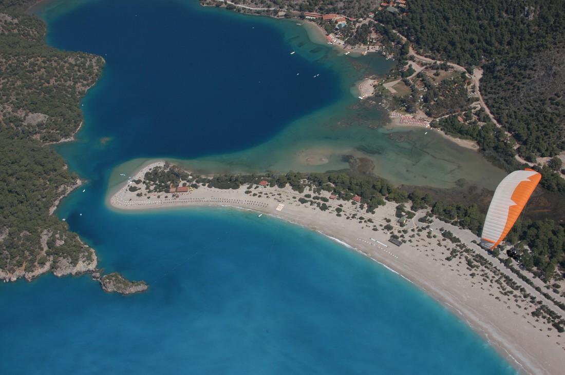 Stranden Turkse Egeïsche Kust - Ölüdeniz