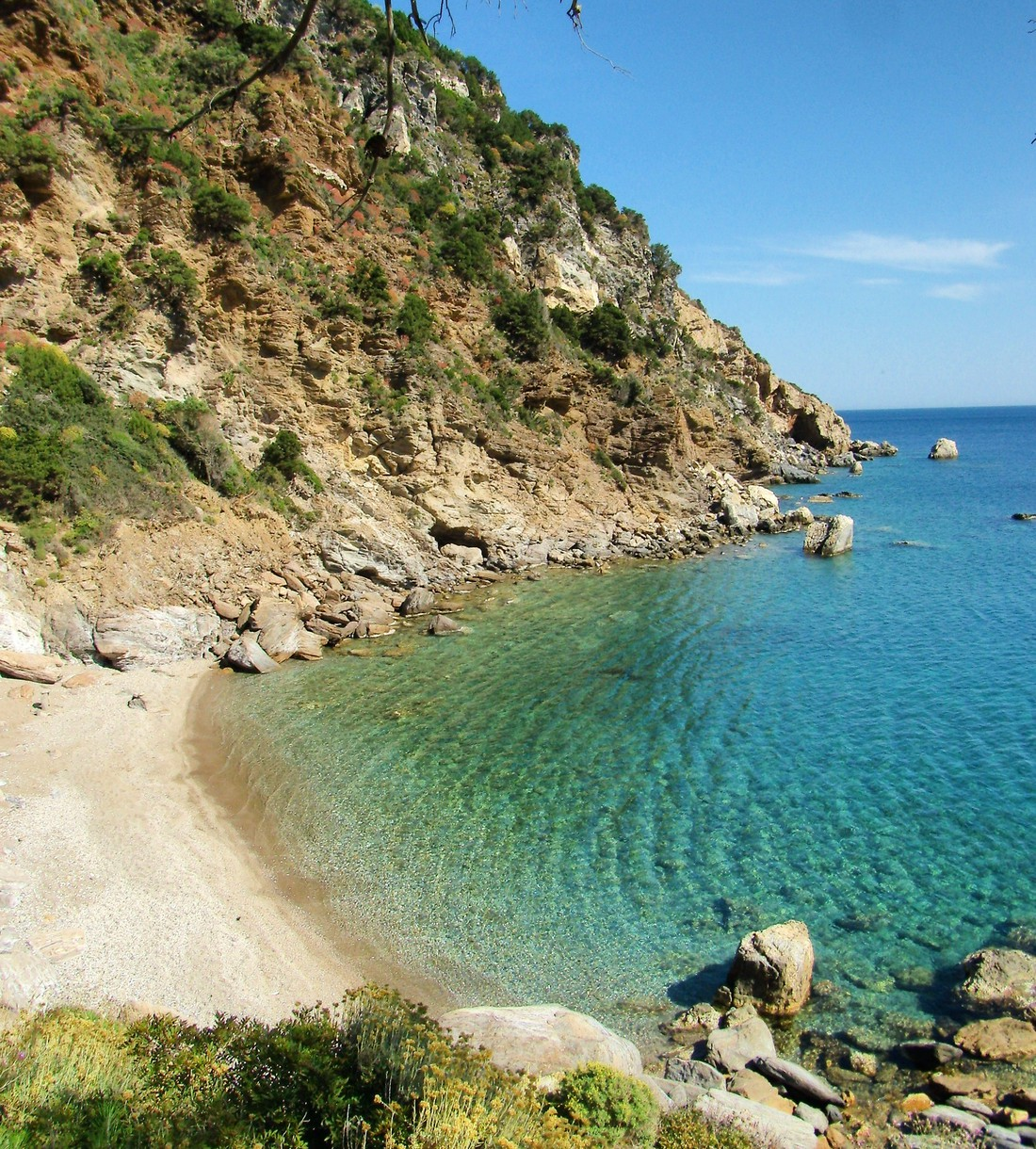 Limnionas Beach - Mooiste stranden Samos