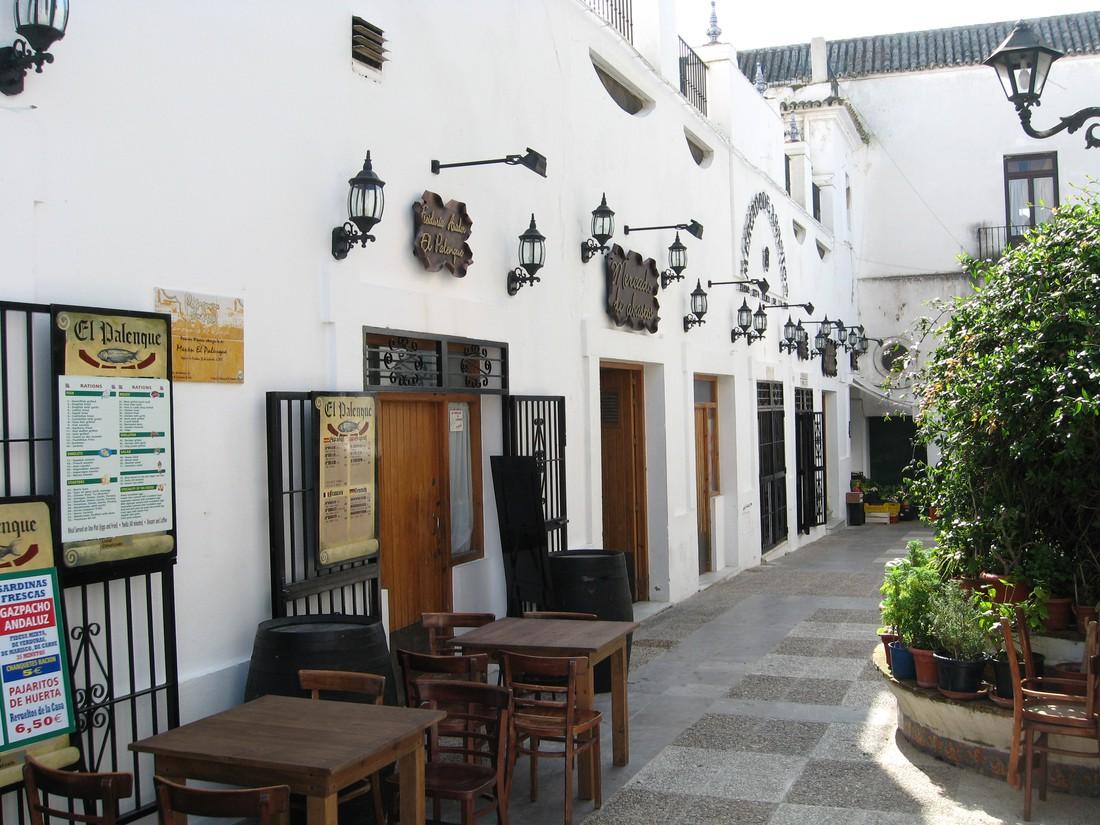 Restaurantje in Vejer de la Frontera