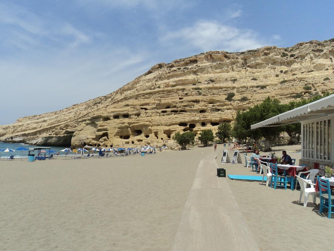 Matala op Kreta
