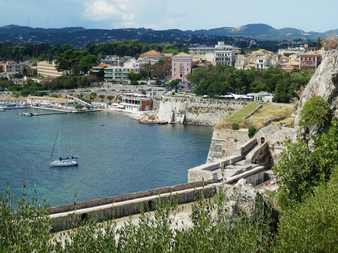Fort Corfu - bezienswaardigheden op Corfu
