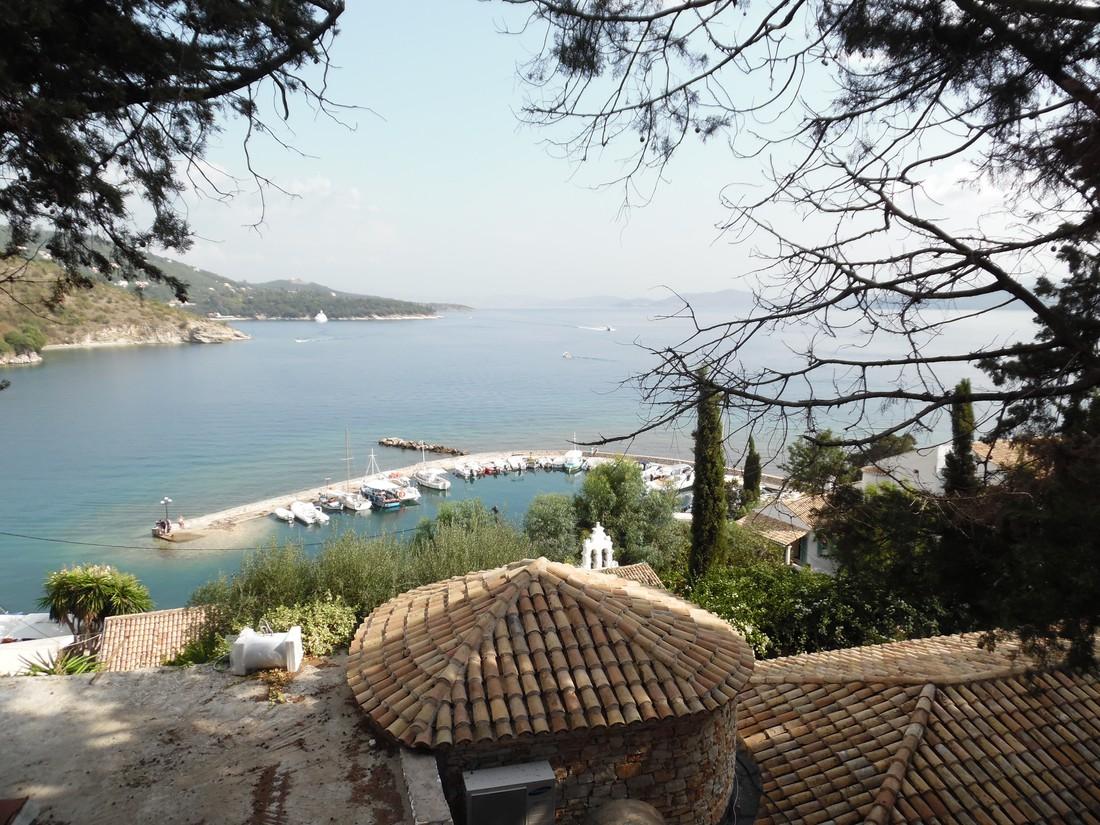 haven van Kalami - bezienswaardigheden op Corfu