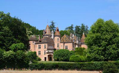 Kasteel Château de Burnand