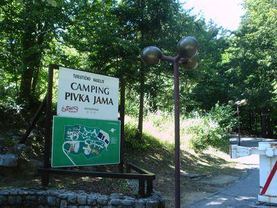 Camping Pivka Jama