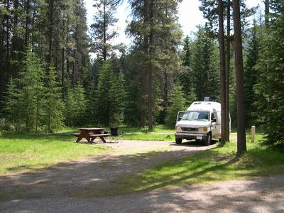 Camping Whistlers campground