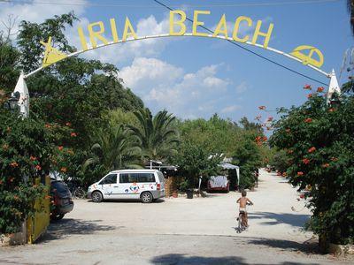 Camping Iria Beach