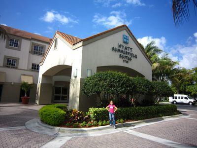 Hotel Hyatt Summerfield Suites Miami Airport