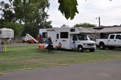 Camping Blythe / Colorado River KOA