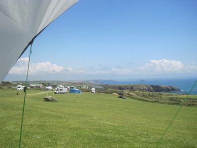 Camping Caerfai Bay