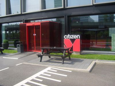 Hotel citizenM Schiphol Airport