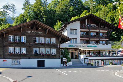 Hotel Weisses Kreuz Brienz