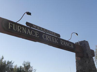 Camping Furnace Creek Campground