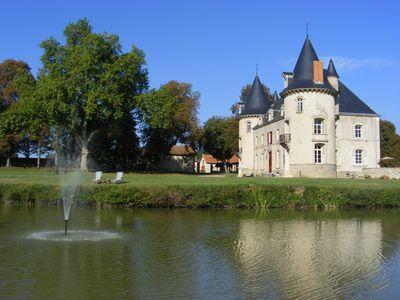 Vakantiehuis Gîte Château Neureux
