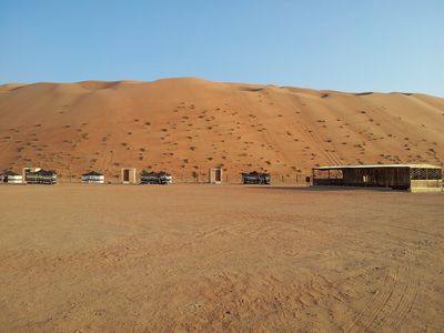 Lodge Desert Retreat Camp