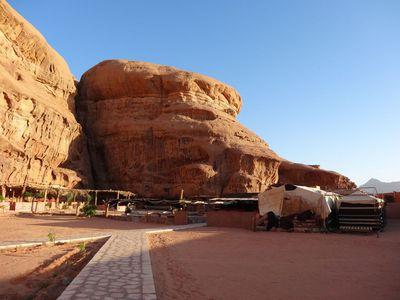 Camping Wadi Rum Camel Camp