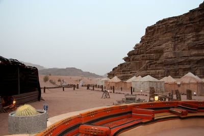 Camping Rahayeb Desert