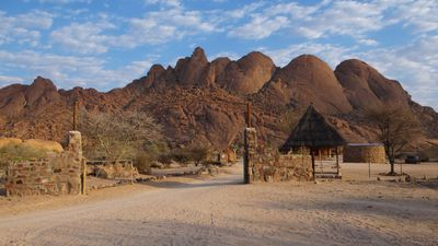 Camping Spitzkoppe Campsites