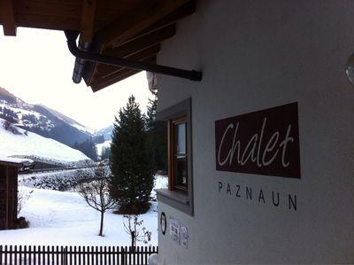 Appartement Chalet Paznaun