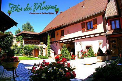 Bed and Breakfast Clos des Raisins