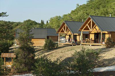 Vakantiepark Village Huttopia Sud Ardèche