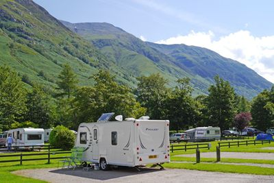 Camping Glen Nevis Caravan & Camping Park