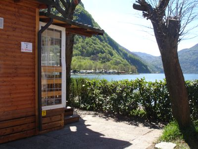 Chalet Brevar  Porlezza (Camping International)