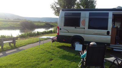 Camping Campen am Fluss