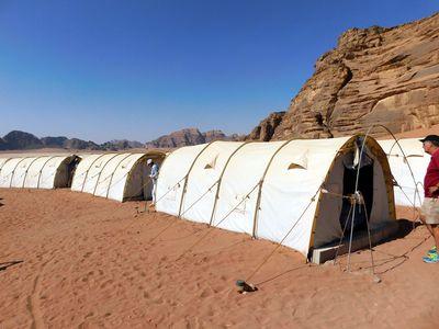Camping Wadi Rum Protected Area