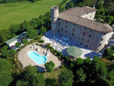 Kasteel Castello di Baccaresca