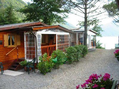 Chalet Casaporlezza Chalets (Camping International)