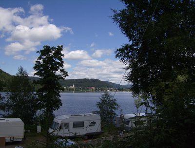 Camping Terrassen Camping Sandbank