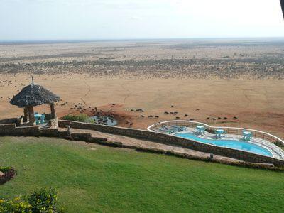 Lodge Voi Safari